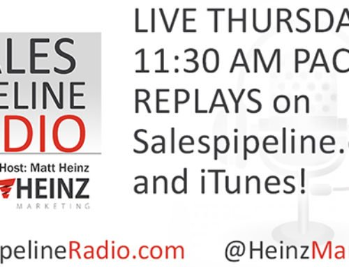 Sales Pipeline Radio with Matt Heinz