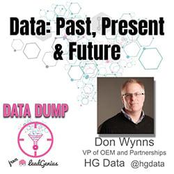 Don Wynns, VPO of OEM & Partnerships at HG Data @hgdata