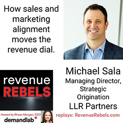 Michael Sala, Managing Director, Strategic Origination, LLR Partners