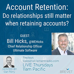 Bill Hicks, Chief Relationship Officer, Ultimate Software @WEHicks