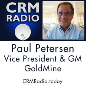 Special Edition of CRM Radio - James Obermayer, host with guest, Paul Petersen