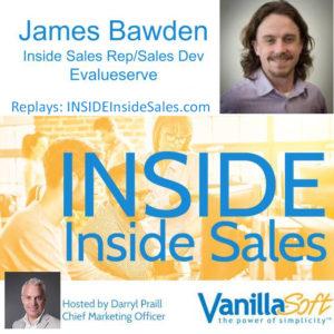 James Bawden, Evalueserve @EVSJames