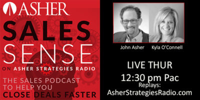 Asher Strategies Radio - ASHER Sales Sense
