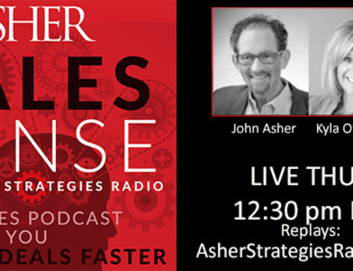 Asher Strategies Debuts Sales Strategy Podcast Series Asher Sales Sense