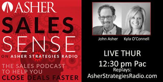 Asher Strategies Radio - ASHER Sales Sense