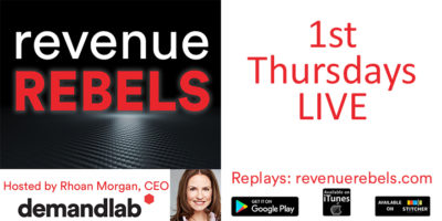 Revenue Rebels by DemandLab hosted by Rhoan Morgan