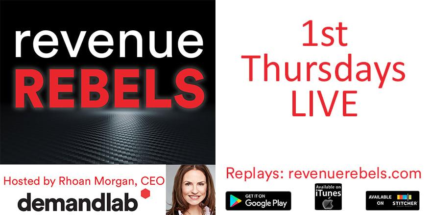 Revenue Rebels by DemandLab hosted by Rhoan Morgan