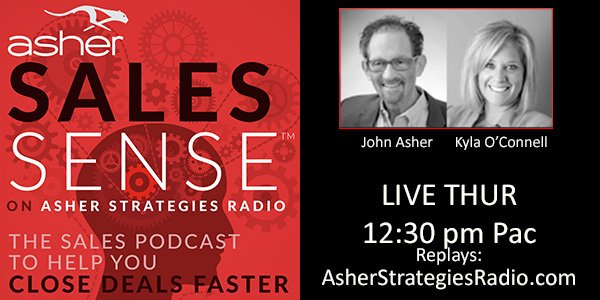 ASHER SALESSENSE - ASHER STRATEGIES. Close deals faster.