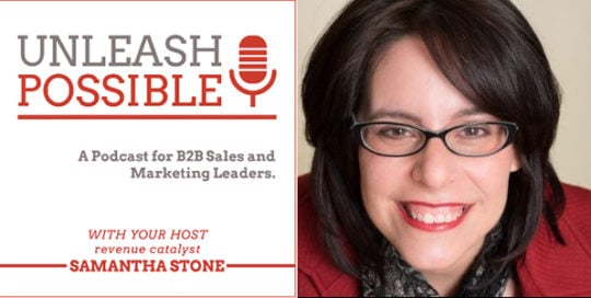 Unleash Possible with host, Samantha Stone