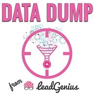 DataDump by LeadGenius hosted by Mark Godley