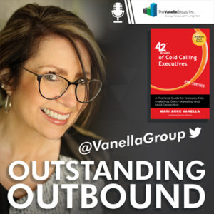 Outstanding Outbound by Vanella Group with host, Mari Anne Vanella