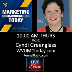 WVUMCToday host - Cyndi Greenglass