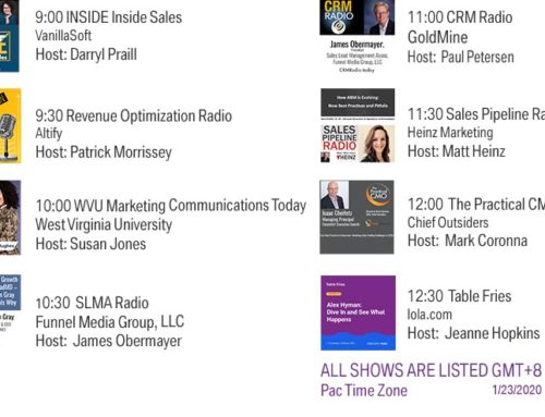 Funnel Radio 1/23/2020 New Show Launching – The Practical CMO
