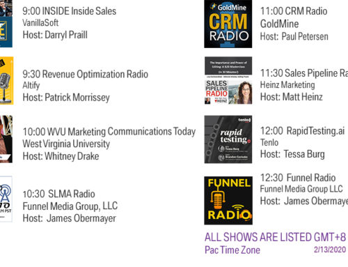 Funnel Radio lineup Feb 13 2020
