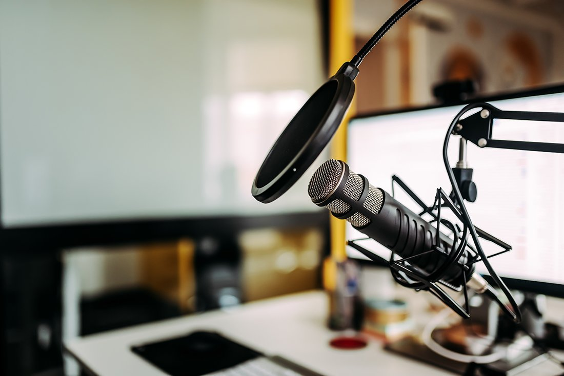 You can podcast, we'll help