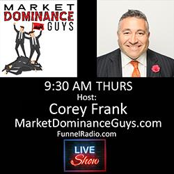 Corey Frank - co host of Market Dominance guys