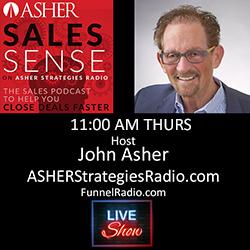 John Asher, cohost Asher Sales Sense