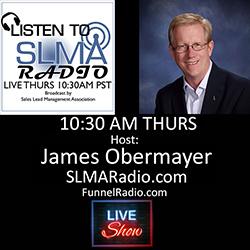 James Obermayer - host of SLMA Radio