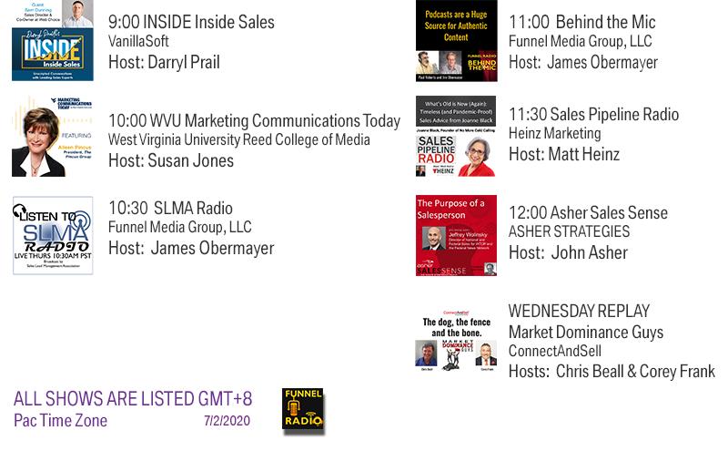 VanillaSoft, West Virginia University, Funnel Media Group, Heinz Marketing, Asher Strategies